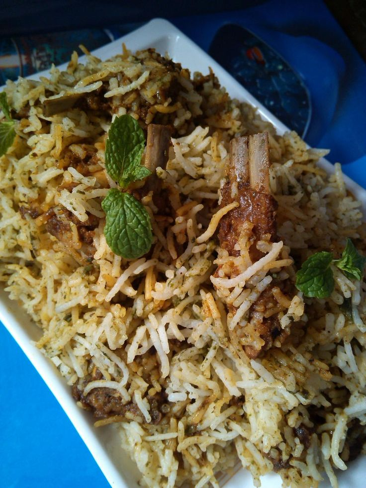 Succulent awadhi mutton biryani recipe cuisine style for Awadhi cuisine dishes