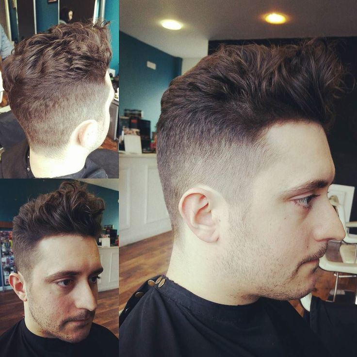 Little Early Morning Skin Fade Loose Curly Pomp Dried In Some