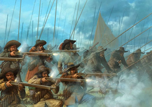 By Fire and Sword - historical tabletop wargame by Rafal Olszewski from Wargamer.pl » The Invincibles - new pdf + some news — Kickstarter