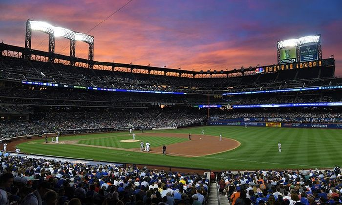 New York Mets - Citi Field at Dusk: New York Mets Game -- Groupon -- 5-3-17
