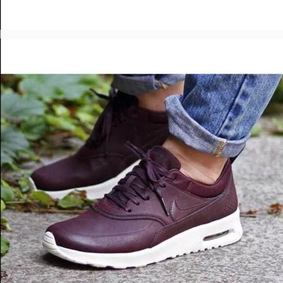 Nike air max Thea Mahogany New whit box size 7 off in another site Nike  Shoes Athletic Shoes
