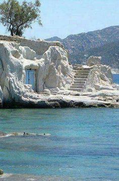 Kimolos Isl   Cyclades, Greece.