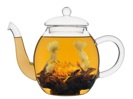 Besonderer Tee online :: Teeblüte First Kiss (schwarzer Tee)