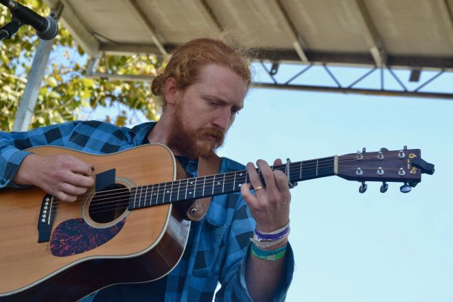 It's a damn good feeling to have the blog back up and running. And, what better way than with Michelle Hanks' interview with Tyler Childers.  (Tyler Childers at Moontower Music Festival in Lexington, KY on August 26, 2017. Photo taken by Matt Wickstrom)