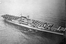 """USS Enterprise (CV-6), was the seventh U.S. Navy vessel to bear the name. Colloquially referred to as the """"Big E"""", she was the sixth aircraft carrier of the United States Navy."""