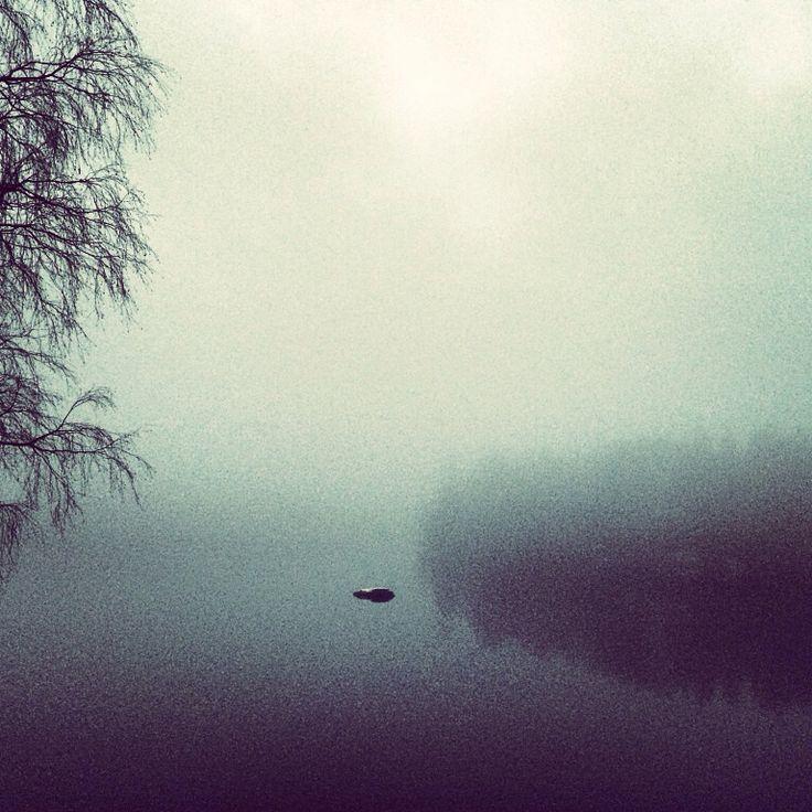 Fog om the river Glomma