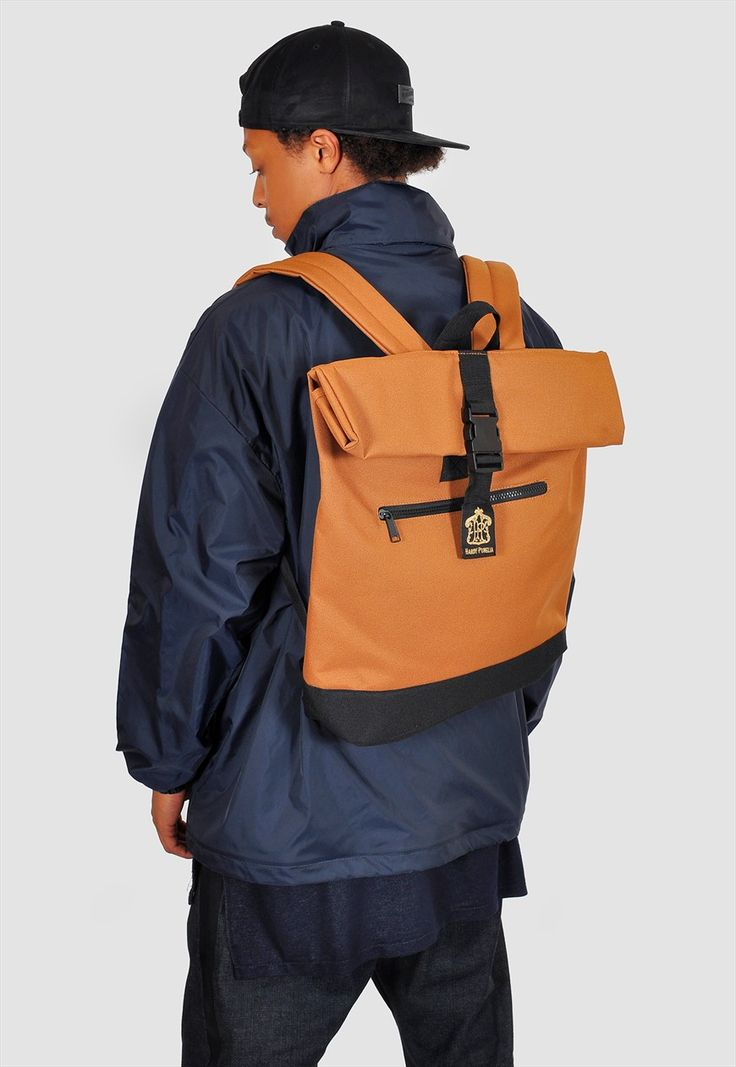 Roll top laptop backpack   The Left Bank   ASOS Marketplace