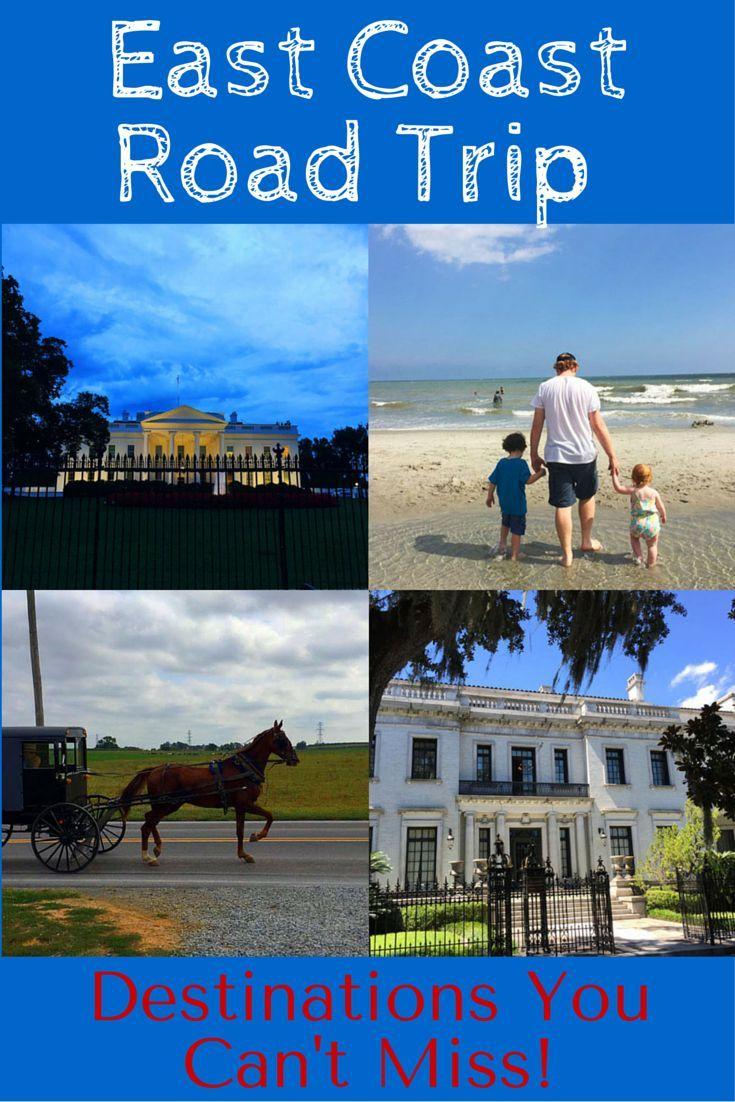 Interactive Map Usa Road Trip%0A East Coast Road Trip Destinations You Can u    t Miss