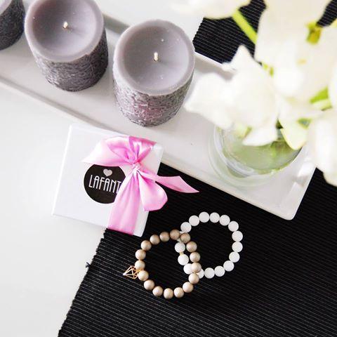 #lifestyle #kamienie #naturalne #bransoletki #bracelets #prezent #na #urodziny #candle #gift #accesories #lov #lafant