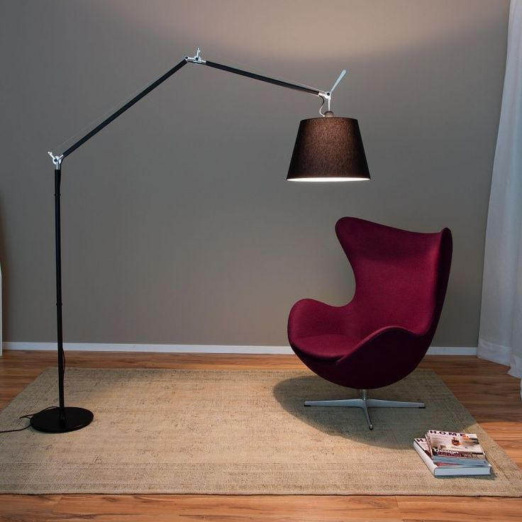 Artemide Tolomeo Mega Black Floor Lamp, In Stock. Authorised Artemide  Supplier Of The Whole Artemide Lighting Range, Including Other Artemide Tolomeo  Mega ...