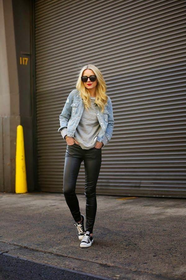 Steal her look giacca di jeans edition   Vita su Marte
