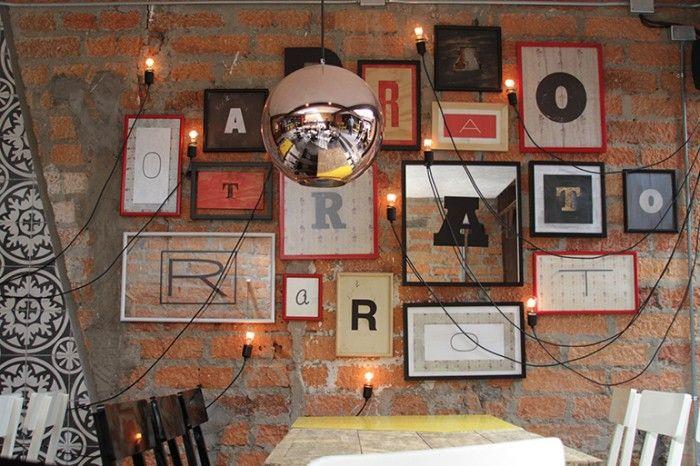 Best restaurant branding images on pinterest