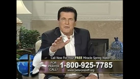 """The """"Miracle Water"""" Came from Costco… and Other Secrets of a Crooked Televangelist"""