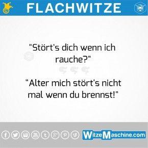 Flachwitze - Raucherwitze