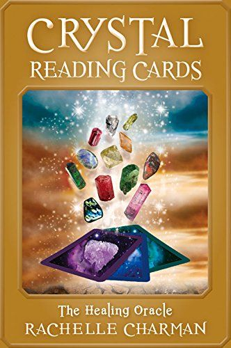 Crystal Reading Cards: The Healing Oracle - 160pp book and 56 full colour cards
