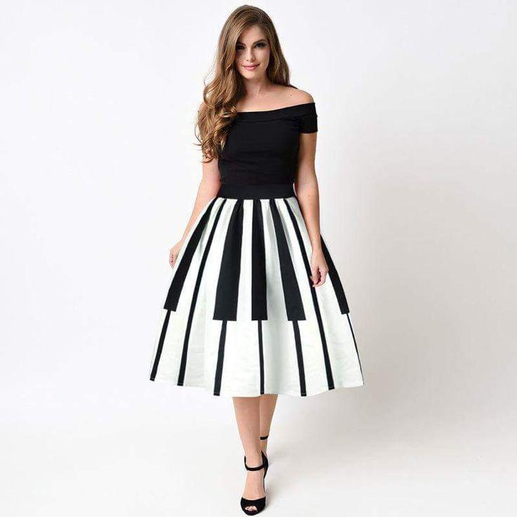 Piano skirt