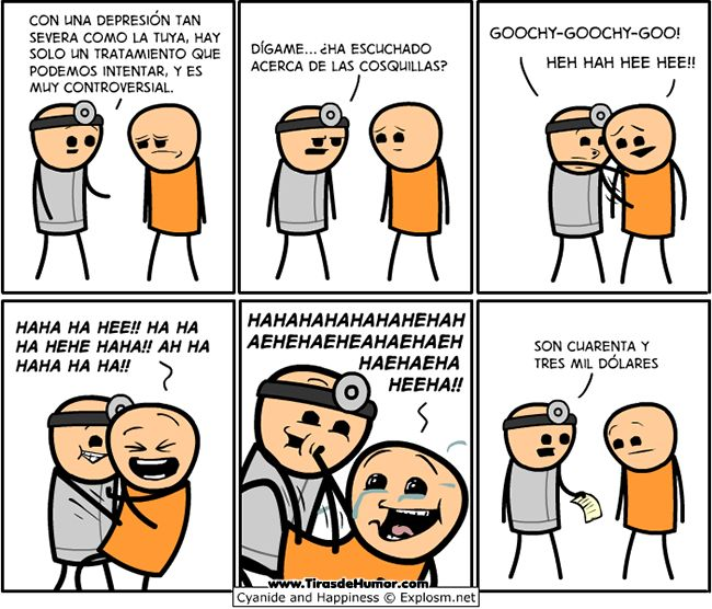 Cyanide and Happiness - Cosquillas