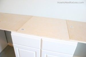 lowes plywood craft desk