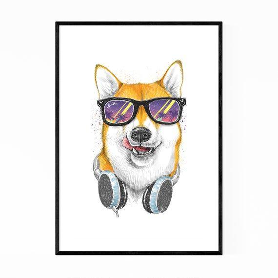 Dog Wall Art Dog Print Humor Gifts Humor Decor Funny Prints