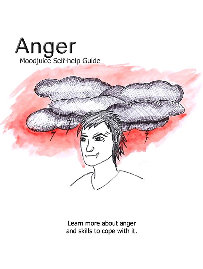 Anger--print out guide for helping clients understand anger
