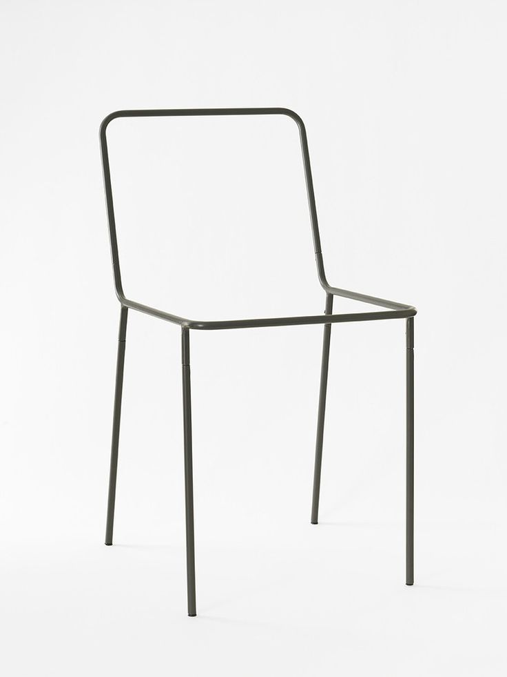 sit down syndrom ,-) remarkable sacrificial chair by thing Industries. powder-coated steel