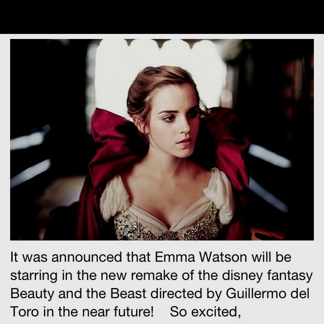 On the list of things to be way too excited about.. Emma