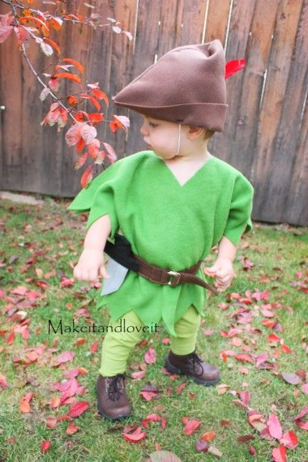 links to some Halloween costumes she has made including this adorable peter pan.