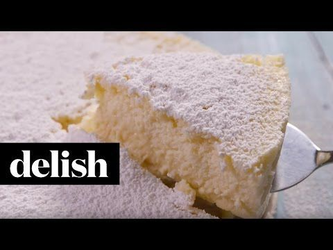 Esta deliciosa tarta sólo lleva 3 ingredientes. Sin harina. Sin gluten.