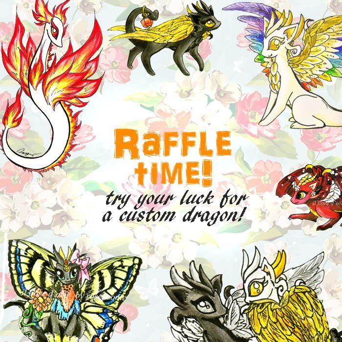 Raffle Time! by rosepeonie.deviantart.com on @DeviantArt