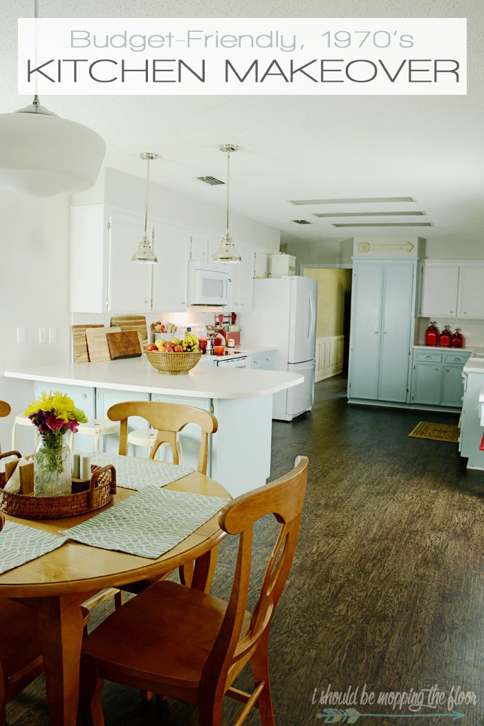 Budget friendly kitchen makeover see how they took their for New kitchen on a tight budget