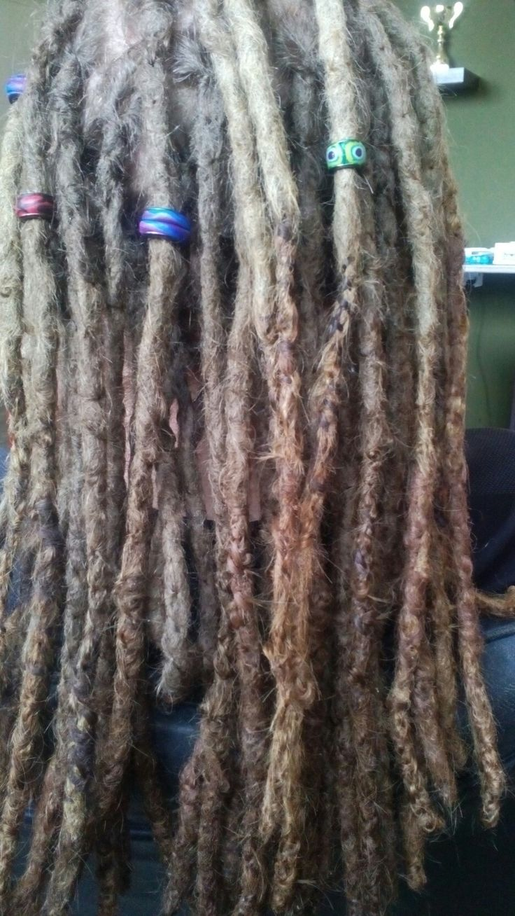 Beads on Natural dreads