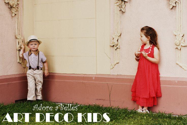 Art deco kidswear