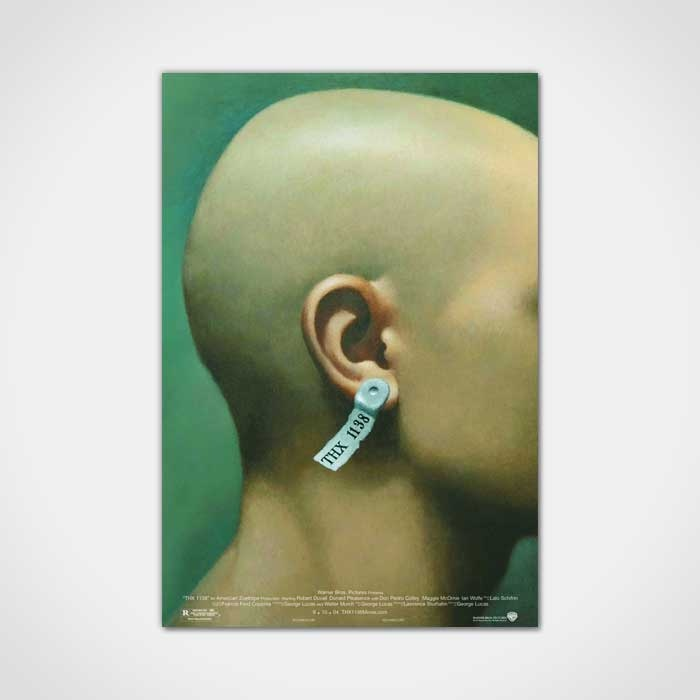 THX 1138Movie Posters, Picture-Black Posters, Posters 1920