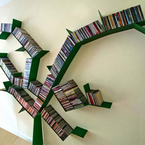 Cool Bookshelves Design Inspiration, Innovative And Attractive