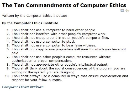 Computer Hacking and Ethics