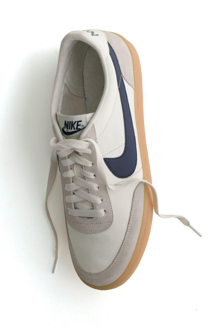 These would go with nice dark jeans and a brown sportcoat. Nike® for J.Crew Killshot 2 sneakers.