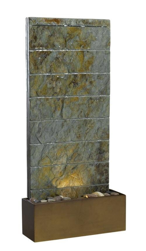 Brook Slate Color Transitional Table / Outdoor / Wall Fountain    $300.60