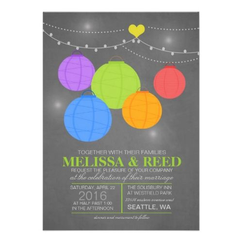 Party Simplicity Rainbow Wedding Invitations Design Challenge » Party Simplicity