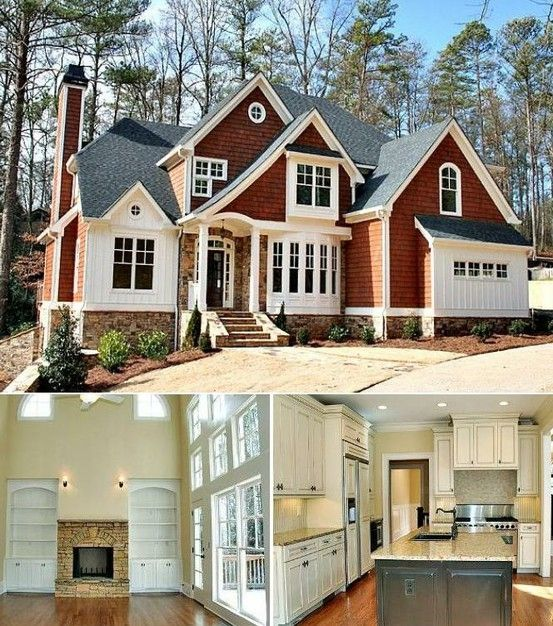 Beautiful Home Exterior Colors: 3912 Best Images About And Outside... On Pinterest