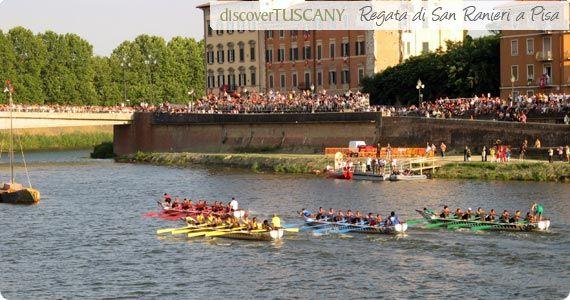 Regata di San Ranieri  Photo Credits: Discovery Tuscany