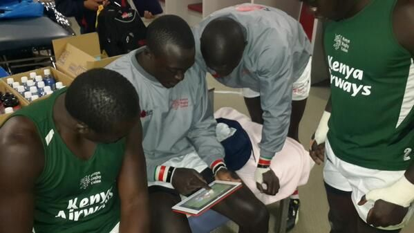 @kenyasevens scouting opponents game on #sportstecplayer #ipad #playerengagement