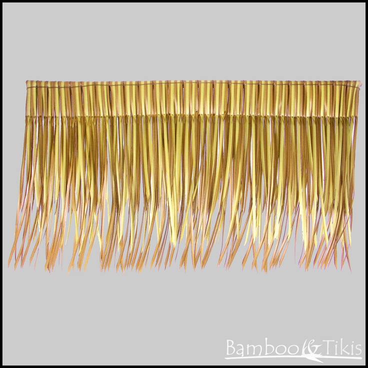 Bali Viro Thatch Panel. All of our Viro products are made of 100% recyclable plastic.