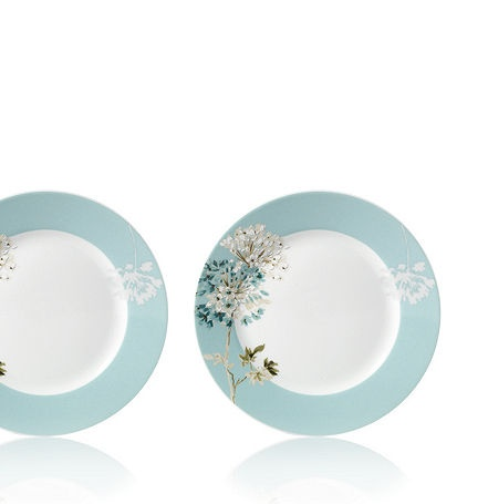 mikasa dinnerware teal silk floral collection casual dinnerware dining u0026 macyu0027s