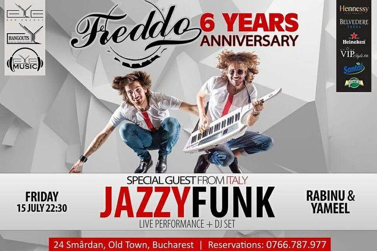 TONIGHT!!! 22:30, 6 Years Anniversary Freddo with Dj. RABINU & Dj. YAMEEL Special Guest: JAZZY FUNK. #onmyway #hangoutsevents #eyebaragency #eyemusic #party #club #freddo #JazzyFunk #dj #Rabinu #Yameel