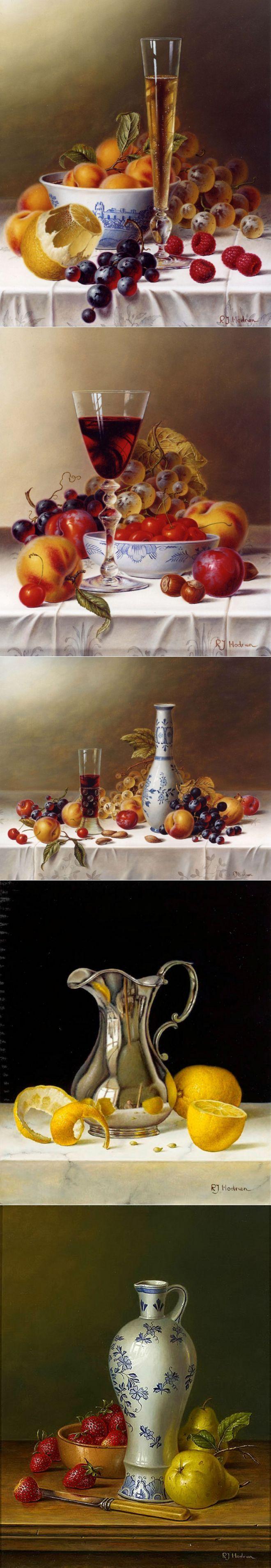 Реализм Roy Hodrien... 'Пейте вино зимой, потому что холодно, а летом – потом� | искусство | Постила