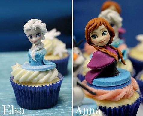 [FOTO] Cupcakes Dengan Figur Animasi Paling Nggemesin | M.Kapanlagi.com
