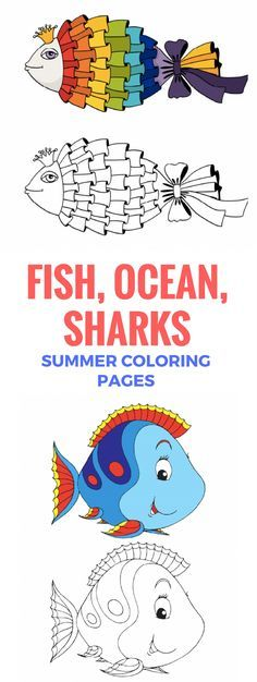 EXPLORE THE OCEAN. Keep your kids busy this summer! More then 1000 Printable PDF coloring pages for kids. CLICK.