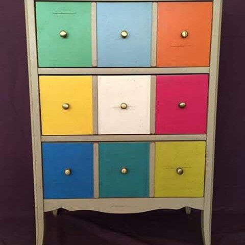 arket wood furniture colorful vintage  design