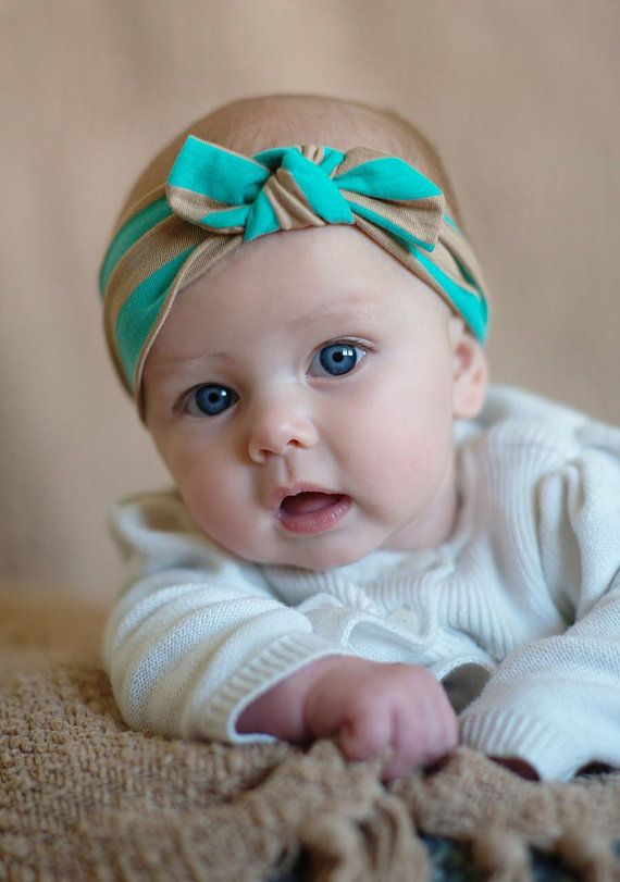 Ocean striped headband