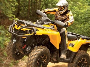 Brp Can Am >> Best Open Class Utility ATV of 2011 The Can-Am Outlander 800R & Outlander 1000 | Can Am BRP ...